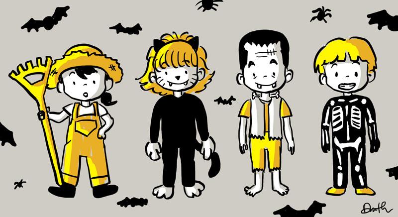 Halloween Kids by LittleTribe