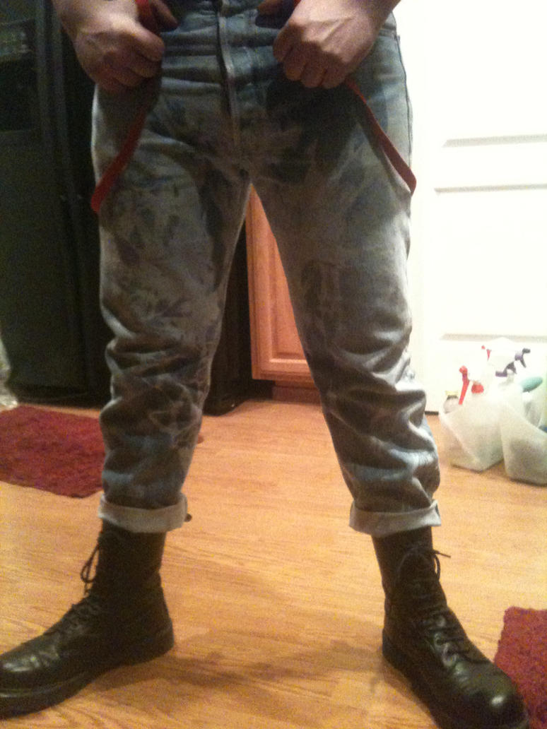 my bleacher jeans... by armoraxer69