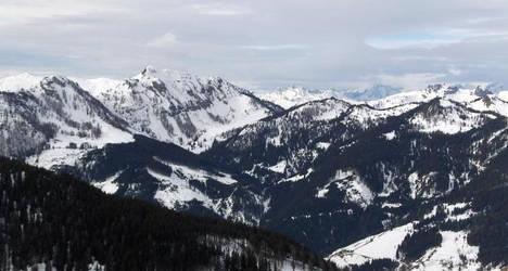 Austrian mountains by derodeschoentjes