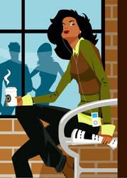 Starbucks Woman by DannySP