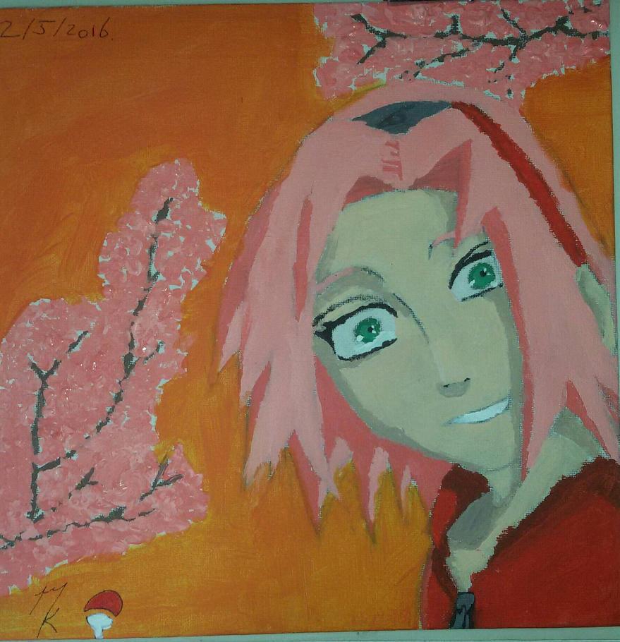 Sakura Haruno. by Uchihaworior13