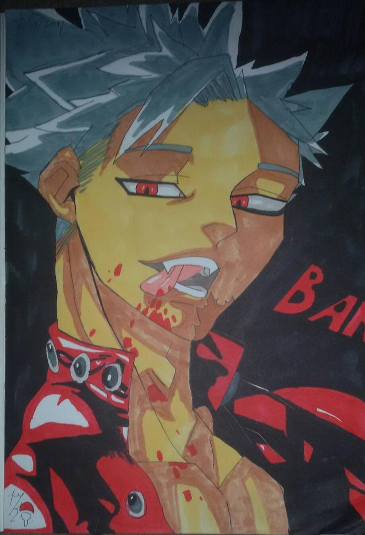 nanatsu no taizai BAN. by Uchihaworior13