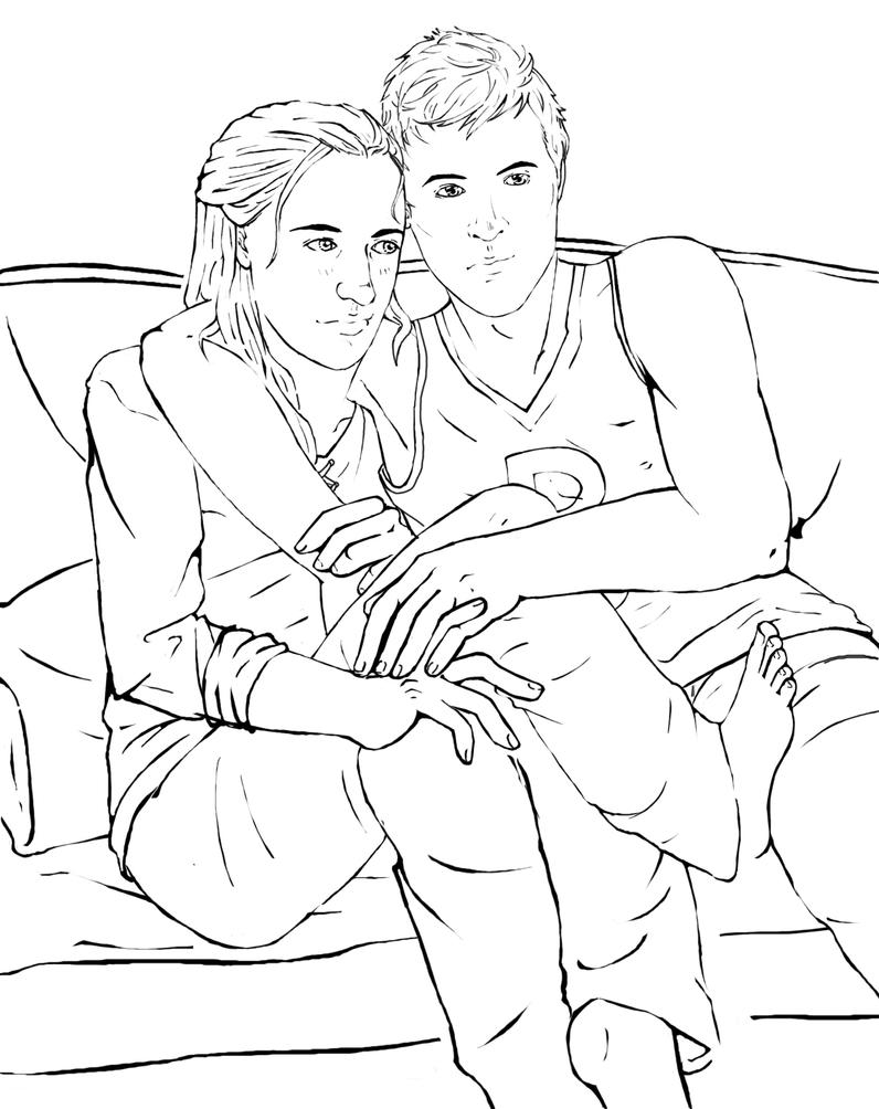Are you even paying attention? [Nagron] Outlines by ahhleeintheimpala