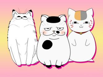 Smug Cat Squad by Comicker-Kai
