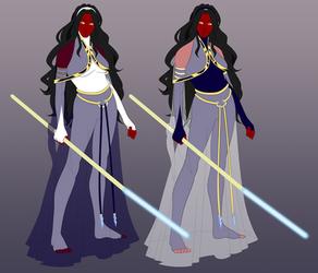 Sahiam Priestess Reference by Comicker-Kai