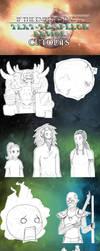 Text-to-Speech Cutouts: Ep. 27 by Comicker-Kai