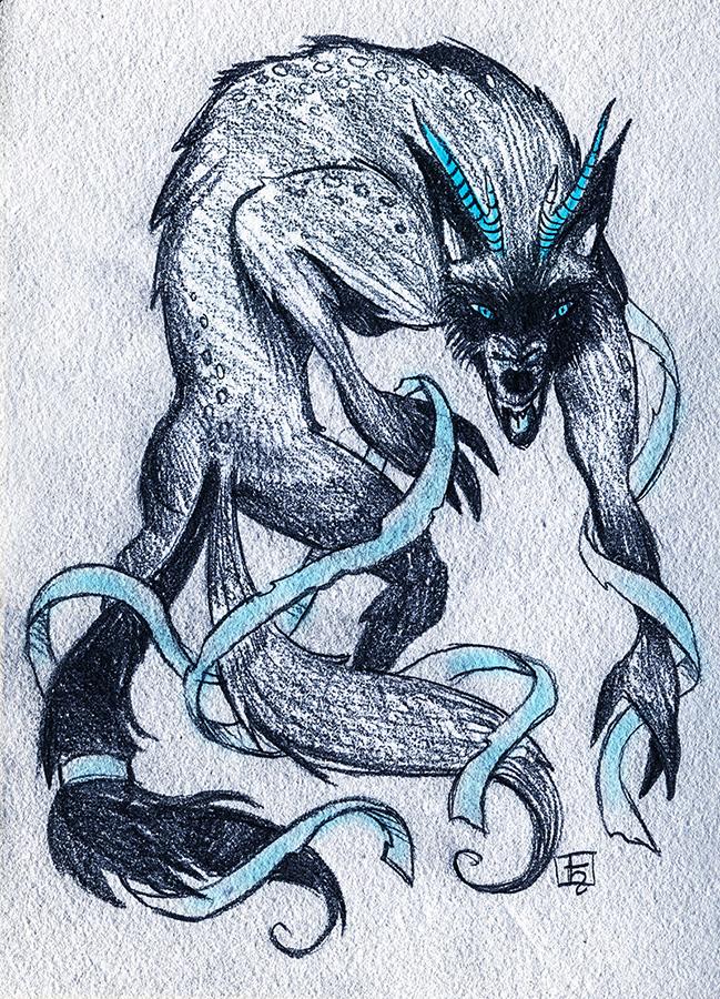 HANA werewolf by Kordelia