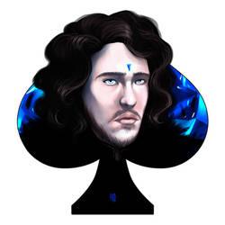 Jon Snow by Kordelia