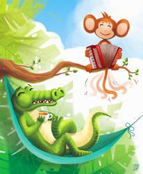 Animals fun by Kordelia