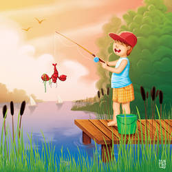 Fishing time by Kordelia