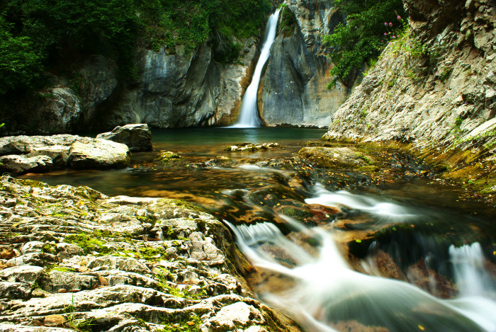 Waterfall by LucAnthonyRossiter