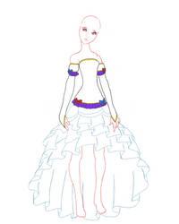 Witch dress design