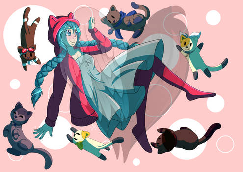BWT Merch: With My Kitties
