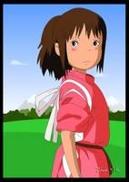Spirited away - Chihiro by sacredblood