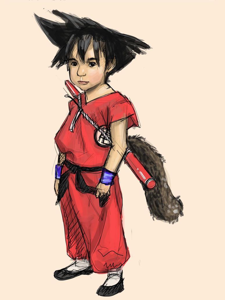 Kid Goku cosplay fanart(reuploaded) by RyCAS