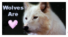 Wolves Are Love Stamp by QueenKayara