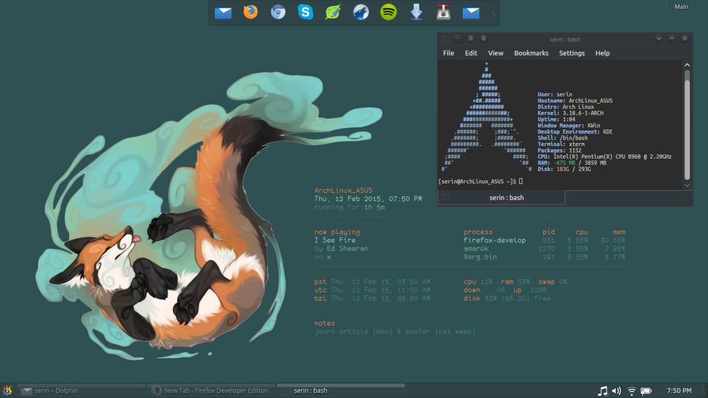 February Desktop by serin113