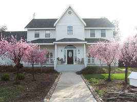 Epiphany house in spring