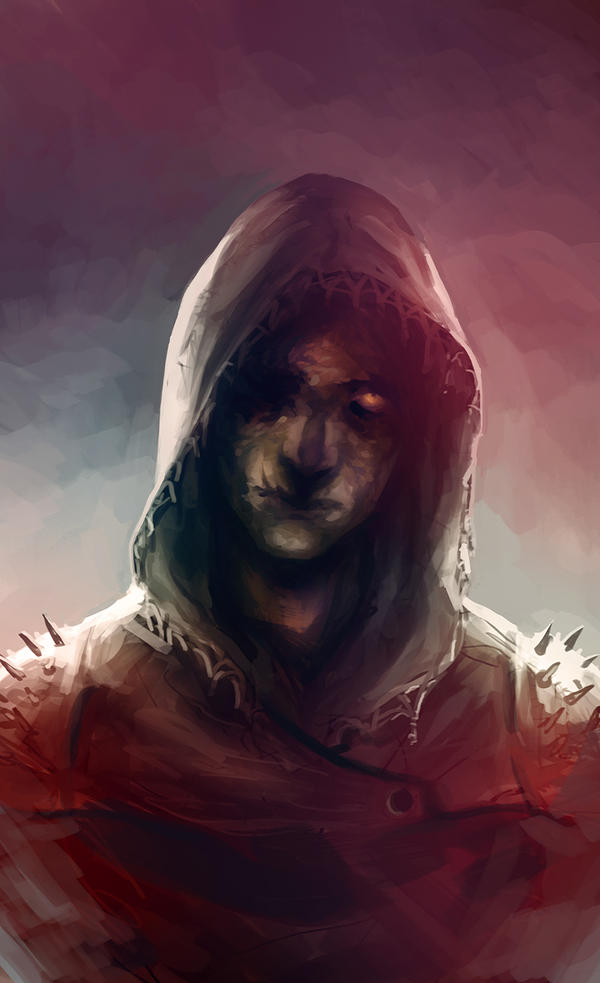 some hooded figure by znodden on DeviantArt