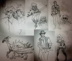 some sketches by znodden