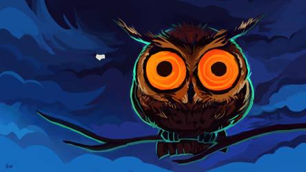 Owlie by znodden