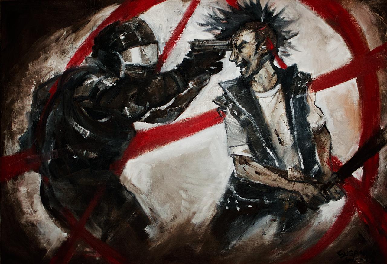 Rage Against Society by znodden