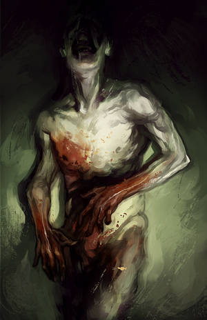 Bloody hands by znodden
