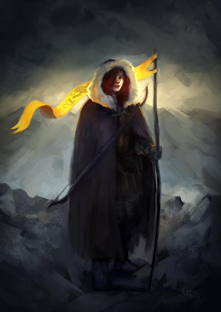 Flagbearer by znodden