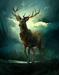 Oh deer by znodden