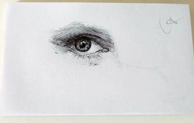 Minipad Sketch Eye by kungfoowiz