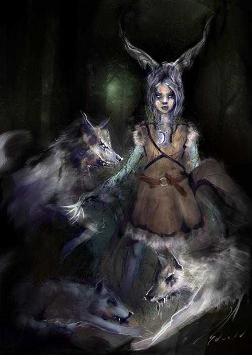 Wolfmancer by kungfoowiz