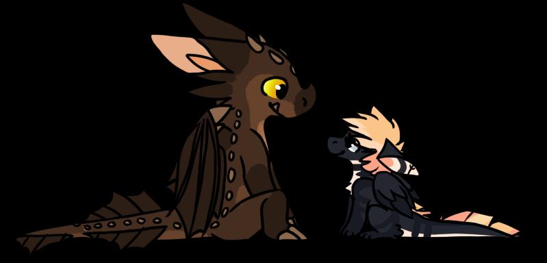 Tiny Dragons by She-Foxy