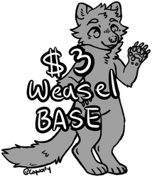 $3 weasel base