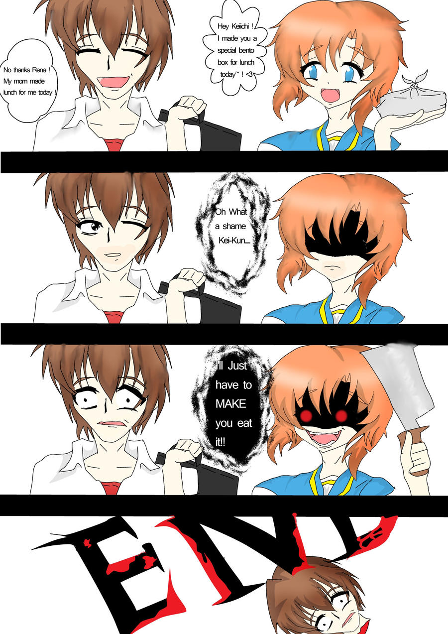 Yandere Comic 01 Never Say No By Meow Rika Furude