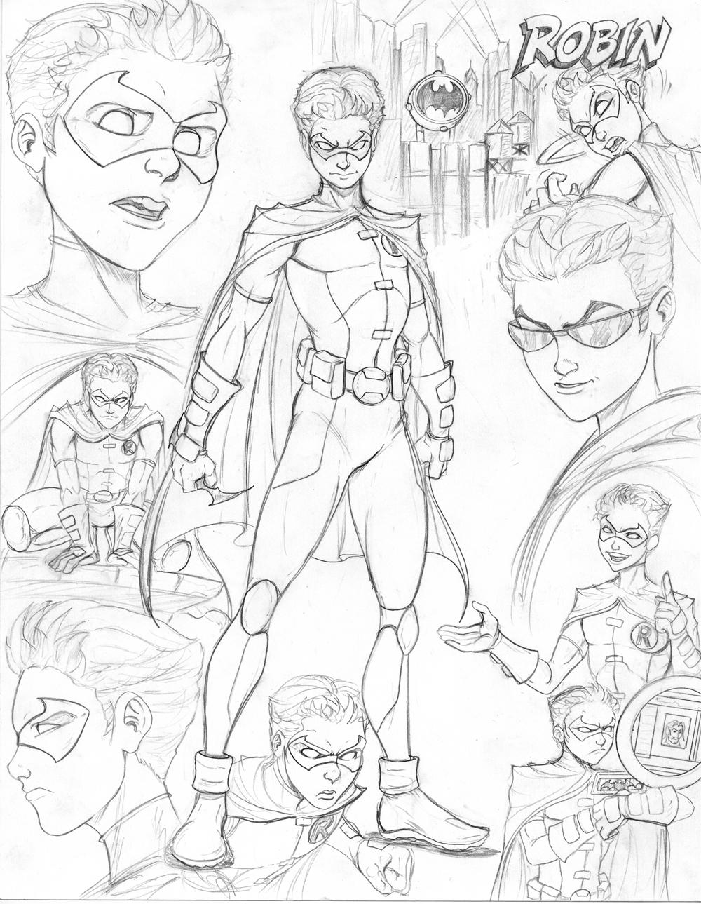 DC Comics Super Heroes #166 (Superheroes) – Printable coloring pages | 1289x1000