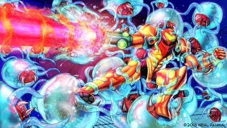 Metroid by Neal-Akuma