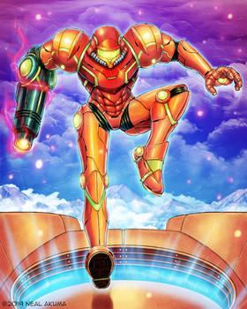 Metroid -3rd fan art
