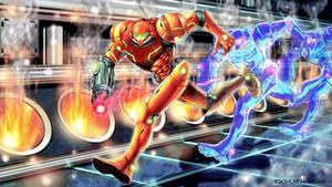 Metroid -escape fan art 4