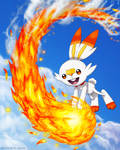 Scorbunny -fan art