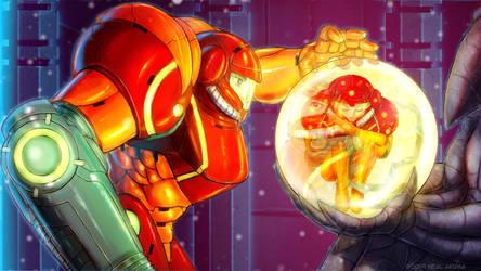 Metroid fan art 5