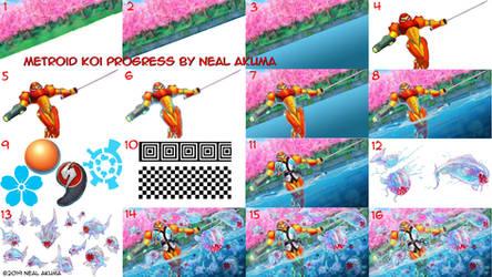 Metroid Koi Progress How To by Neal-Akuma