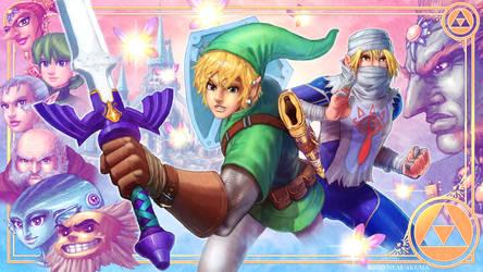 The Legend Zelda: Ocarina of Time -Fan Art