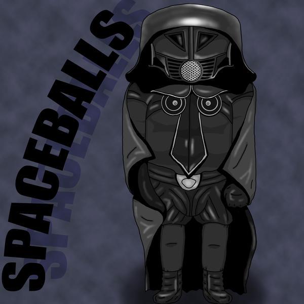 spaceballs dark helmet by flui on deviantart