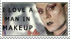 Klaus Nomi Stamp: Makeup by Twisticide