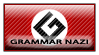Grammar Nazi Stamp by Twisticide