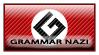 Grammar Nazi Stamp by Twisticide
