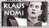 Klaus Nomi Stamp by Twisticide