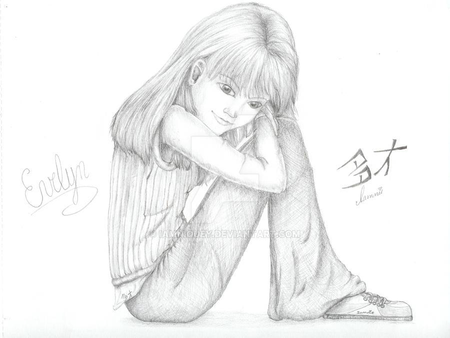 Evelyn by iamniquey