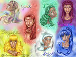 The Seven Crysalias Sisters
