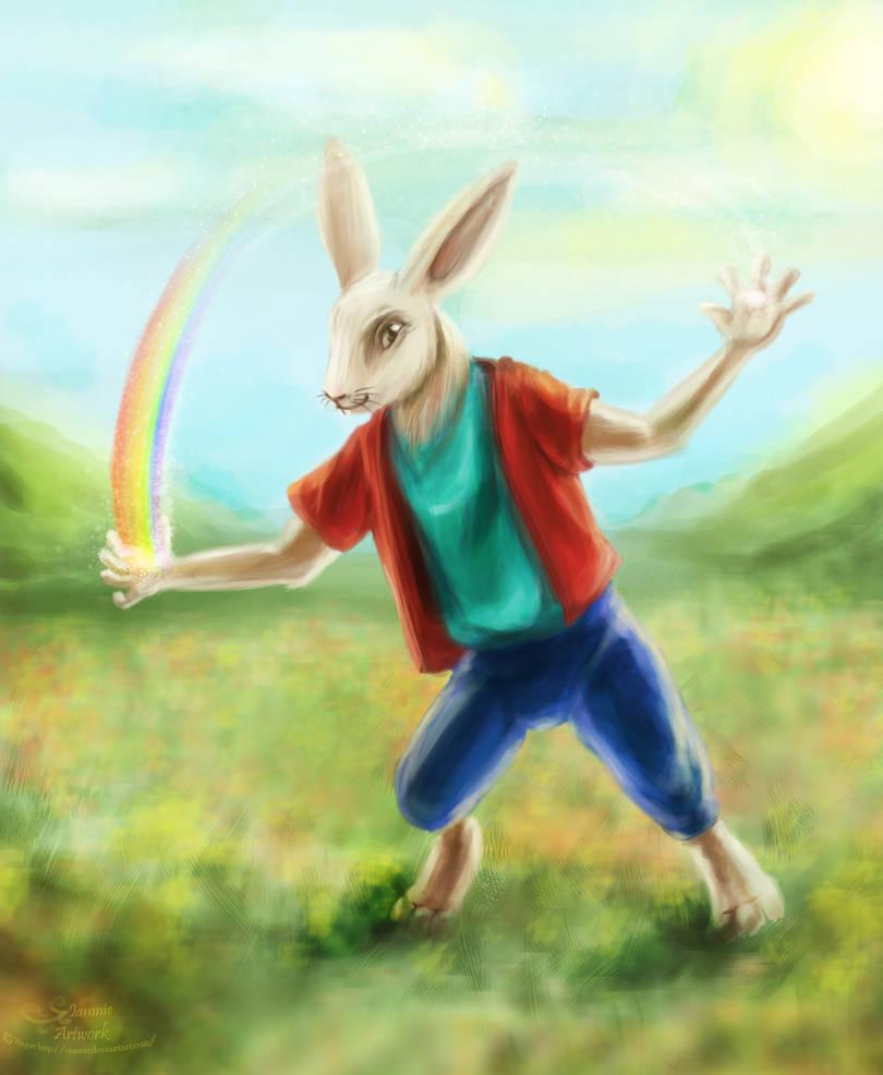 Dream Bunny by iamniquey